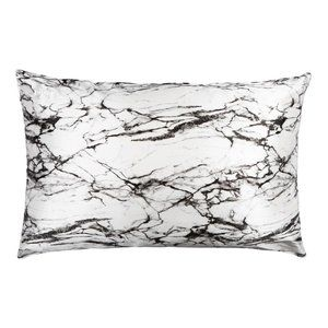Blissy 100% Mulberry Silk Marble Queen Pillowcase